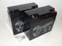 2x Leoch LP12-18 - 12v 18ah Mobility AGM Batteries